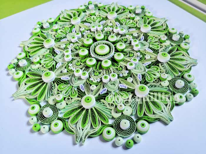 Handmade Beautiful Quilling Paper Art