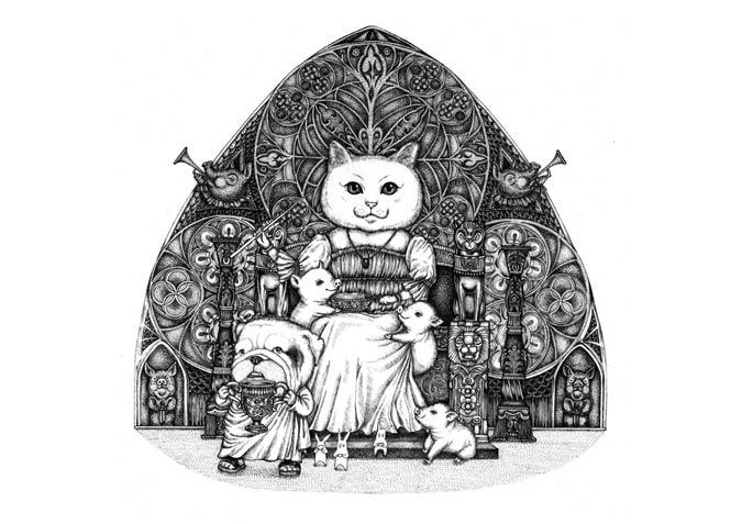 Create illustrations for children's books