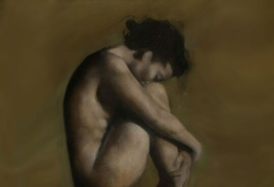Figurative artist patrick palmer and dreamy post-romantic nudes