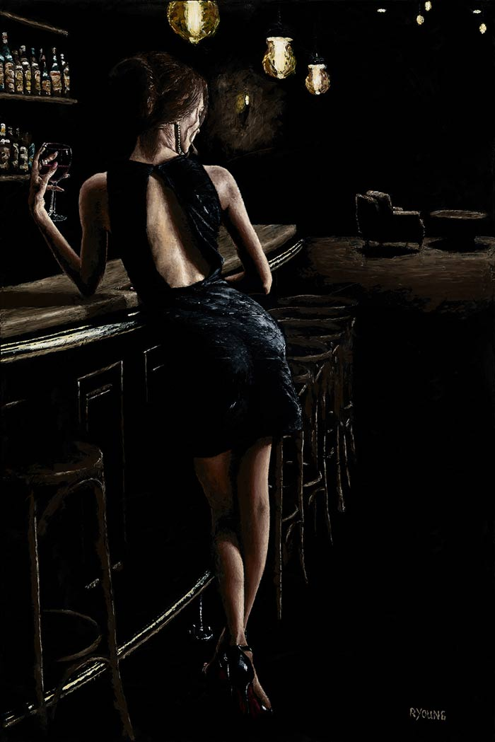 Pursuit Of Romance Paintings by Artist Richard Young