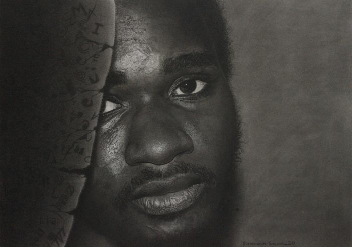 Stunning Photorealism Graphite and Charcoal Drawings