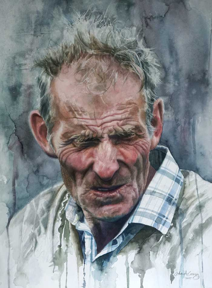 John Cooney artist the royal society of portrait painters
