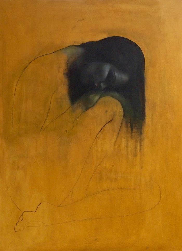 Figurative artist patrick palmer and dreamy post-romantic nudes