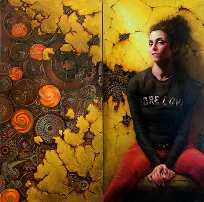 Anastasiya Fender's artwork Telling stories