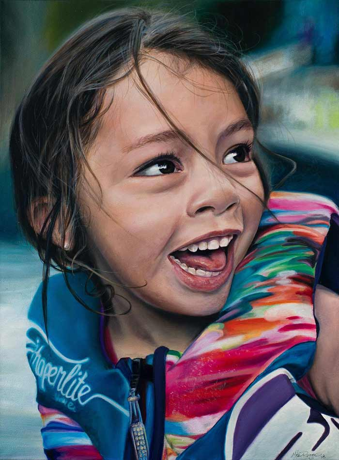 Artist Mike Rogers Creates Incredibly Realism Paintings