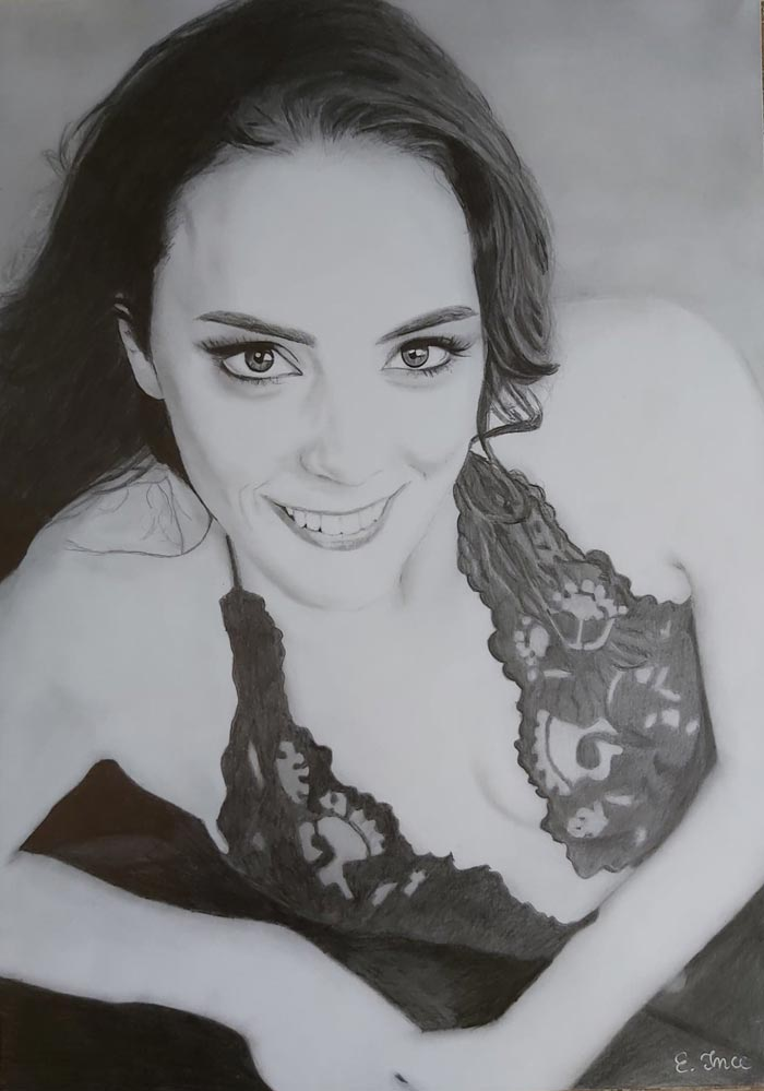 Portrait Drawings with Pencil