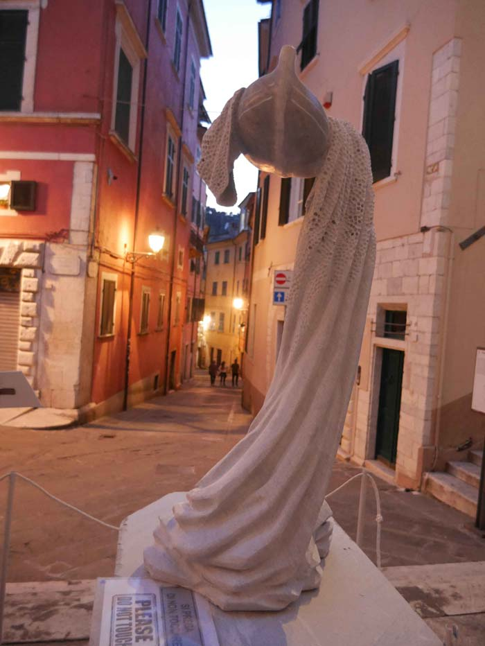 Beautiful Italian Hand Carved Marble Sculptures In Carrara
