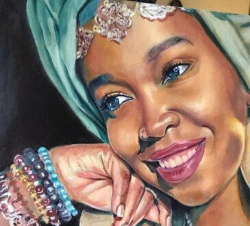 Stunning Paintings on the beauty of black women