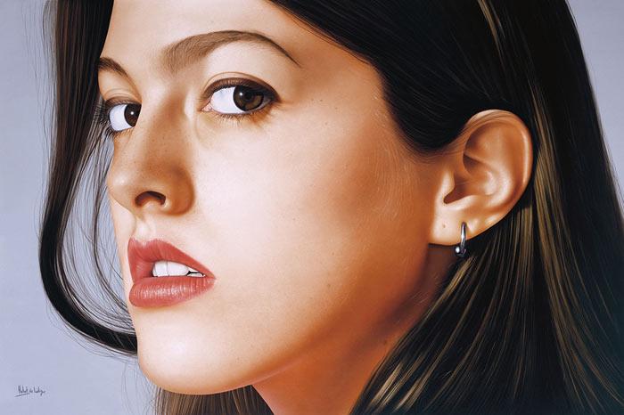 Hyper-Realistic Portrait Paintings