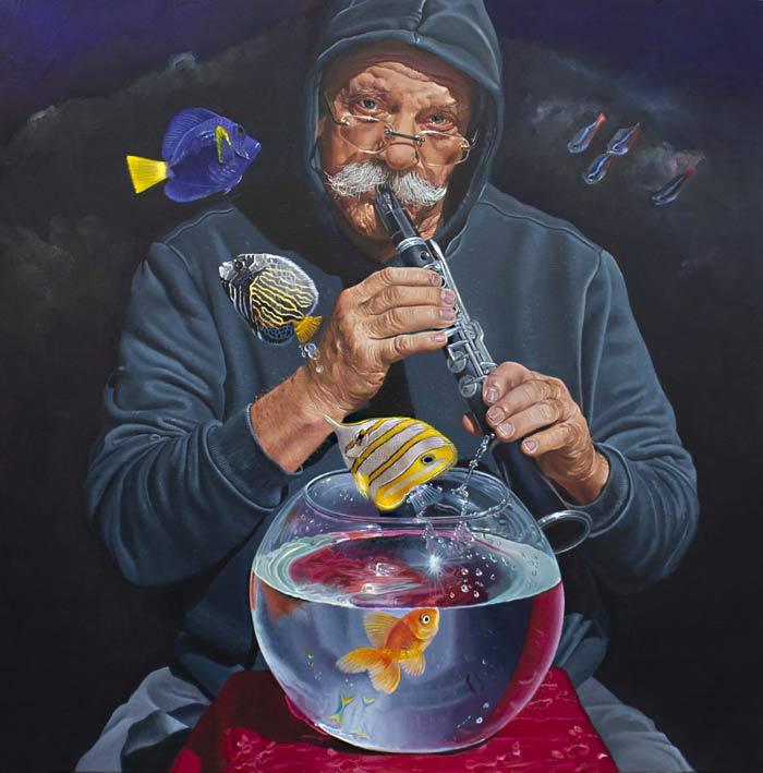 Hyperrealism painting