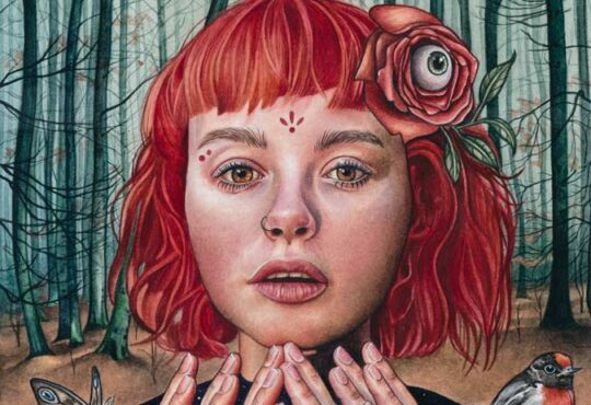 Fine Artist Kaitlyn Page Surrealism Portrait Paintings