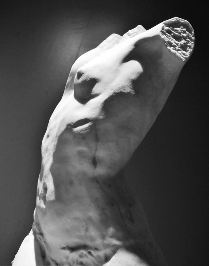 Stunning Italian Hand Carved Marble Sculptures In Carrara