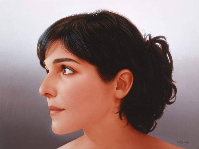 Gorgeous Hyper-Realistic Portrait Paintings