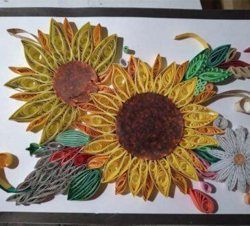 Handmade Beautiful Paper Quilling Art