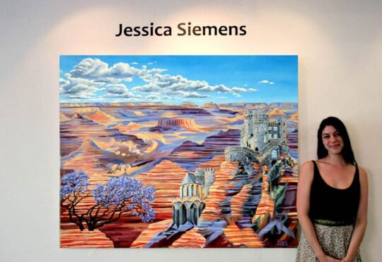 Jessica Siemens Magic Surrealist Paintings