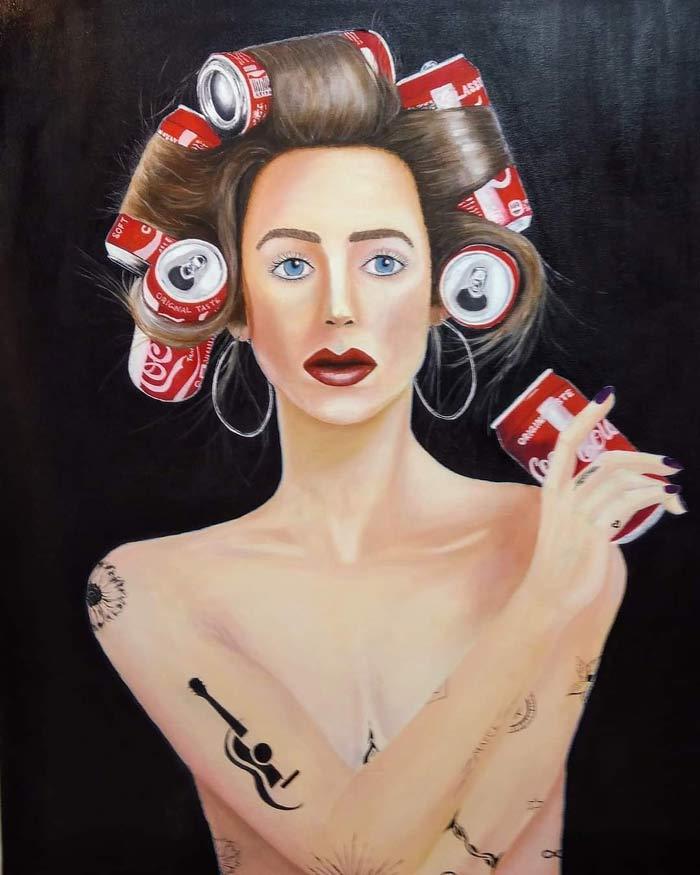 Yoel Mark Inspirational Oil Paintings