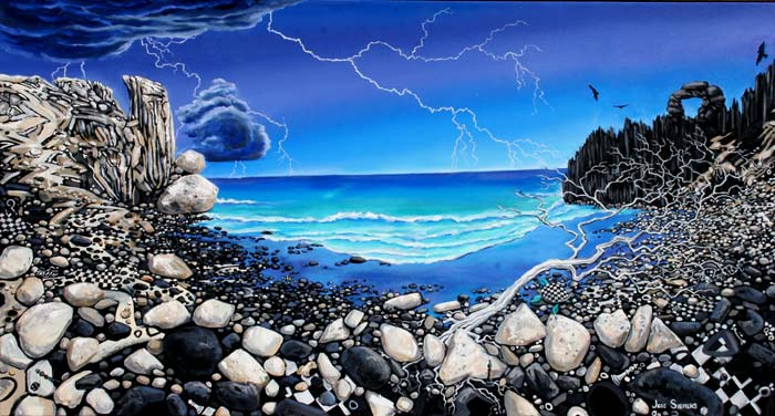 Jessica Siemens Magic Surrealist Paintings