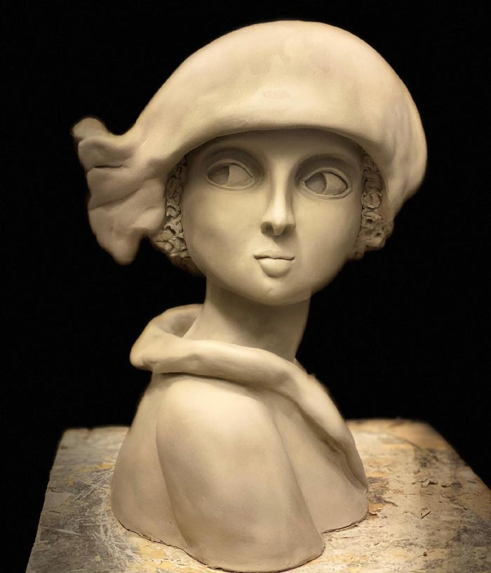 Stunning Sculptures of the female portrait