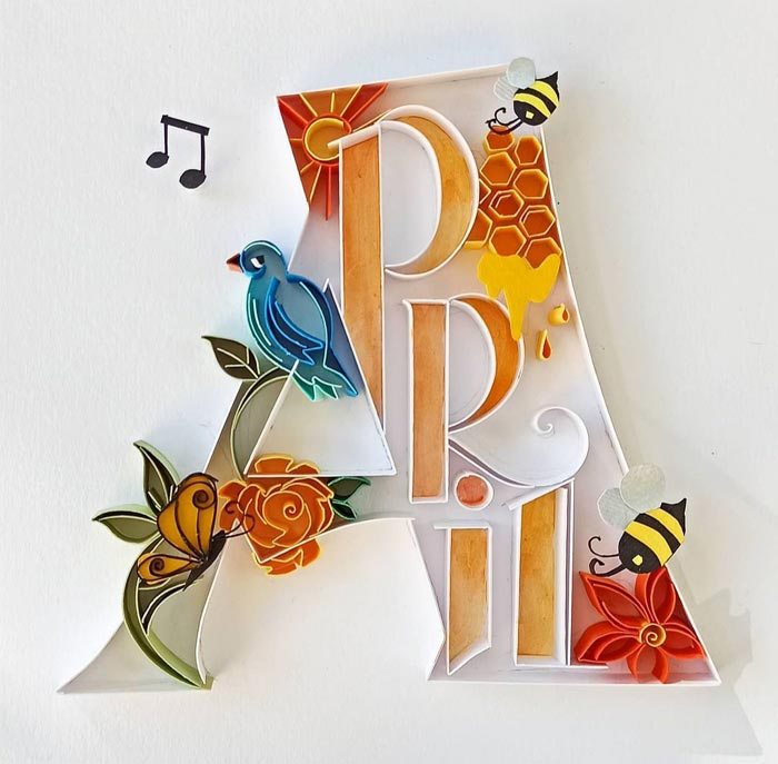 Unique Paper Quilling Art Designs Wall Art for Home Decor