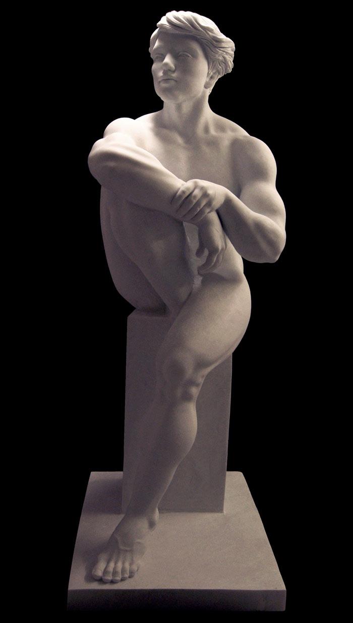 Italian Sculptor creates Stunning marble sculptures