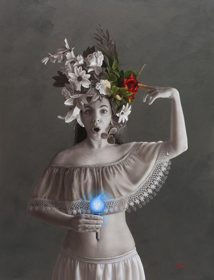 Alexandre Monntoya hyper realism art oil paintings