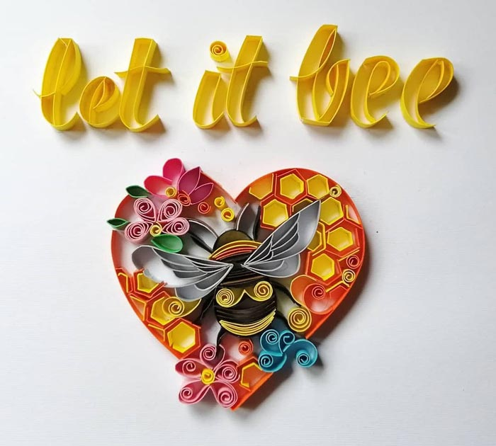 Awesome Quilling Art Designs Wall Art for Home Decor