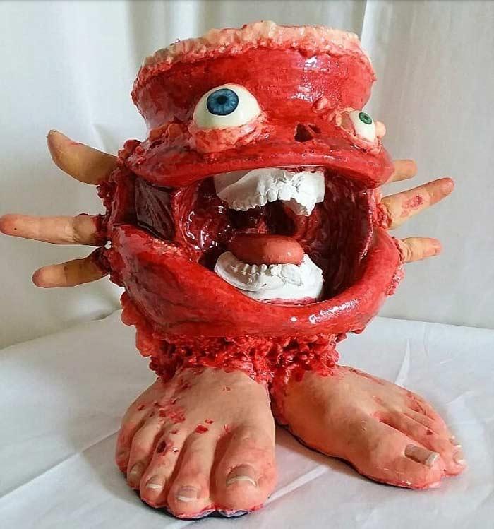 Artist Travis Mullins Creating Incredible Monsters Art