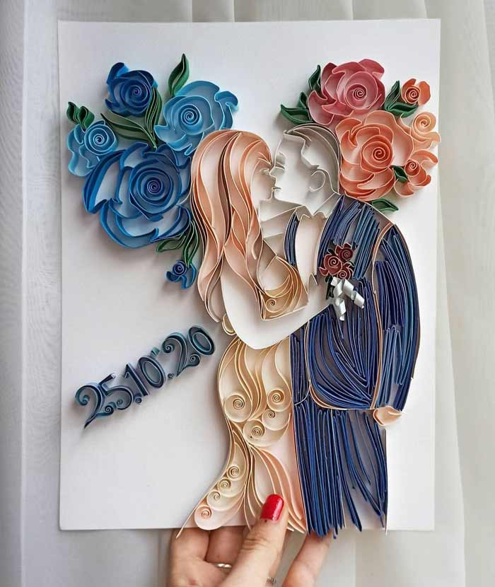 Stunning Quilling Art Designs Wall Art for Home Decor