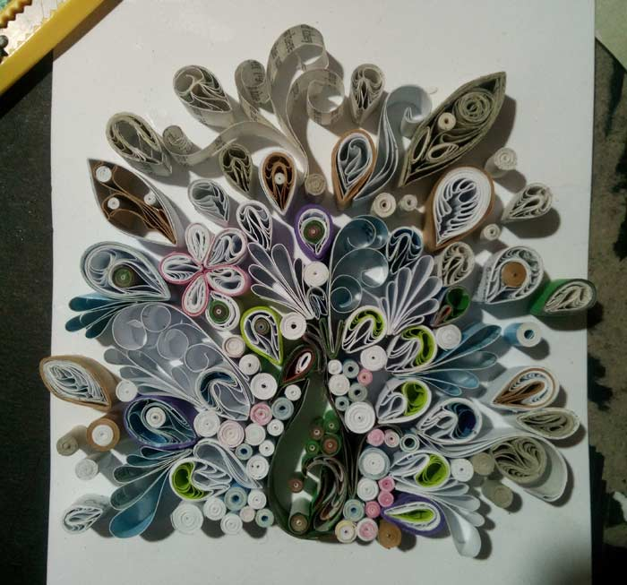Beautiful Paper Quilling Art by Jovelle Mae S. Elicanal