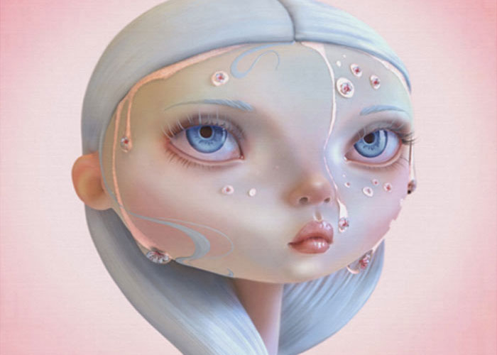 Pop surrealism art by Gokcen Yuksek