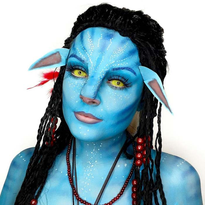 Makeup artist transforms herself into hollywood stars avatar