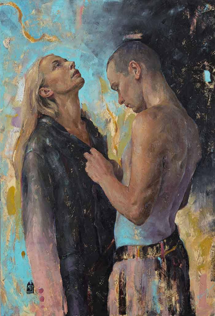 Contemporary figurative art by Tania Rivilis