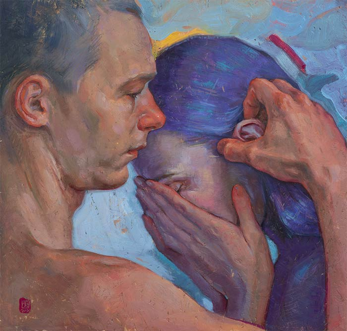 Contemporary realism paintings by Tania Rivilis