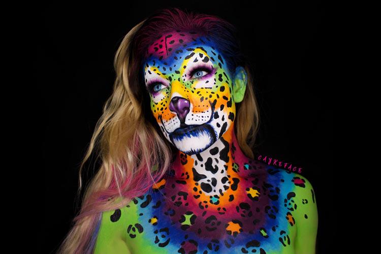 Incredibly Creepy Halloween Makeup Art of Caykeface