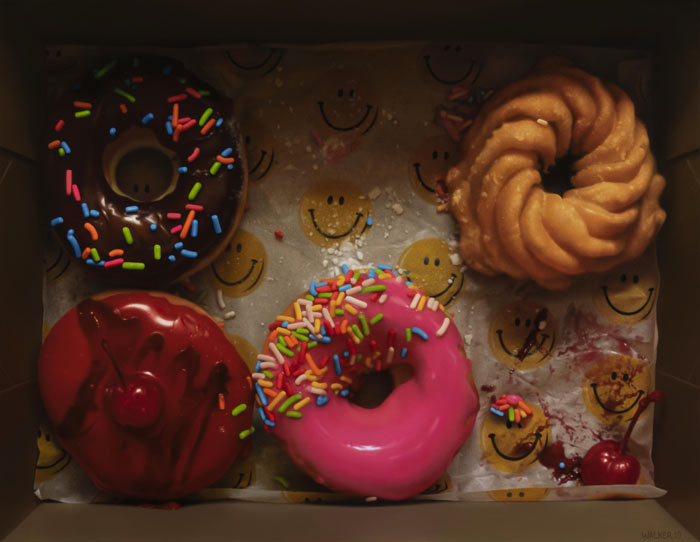 Hyper realistic Still life oil paintings by Jason Walker