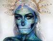 Body Paint Halloween Transforms by Emma Riley