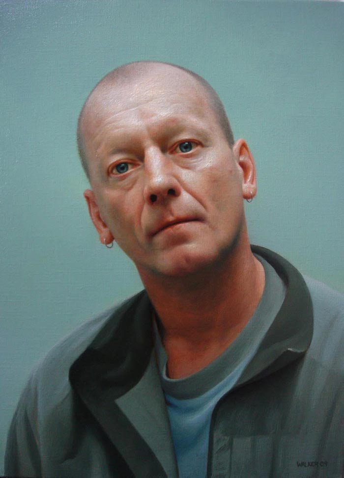 Hyper realistic Portrait oil paintings by Jason Walker