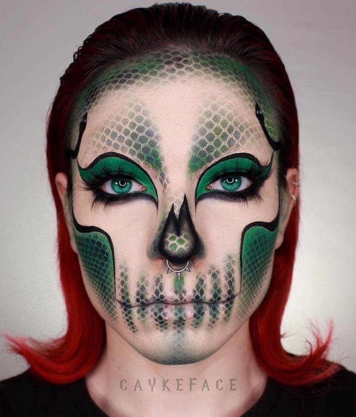Stunning Scary Halloween Makeup Art