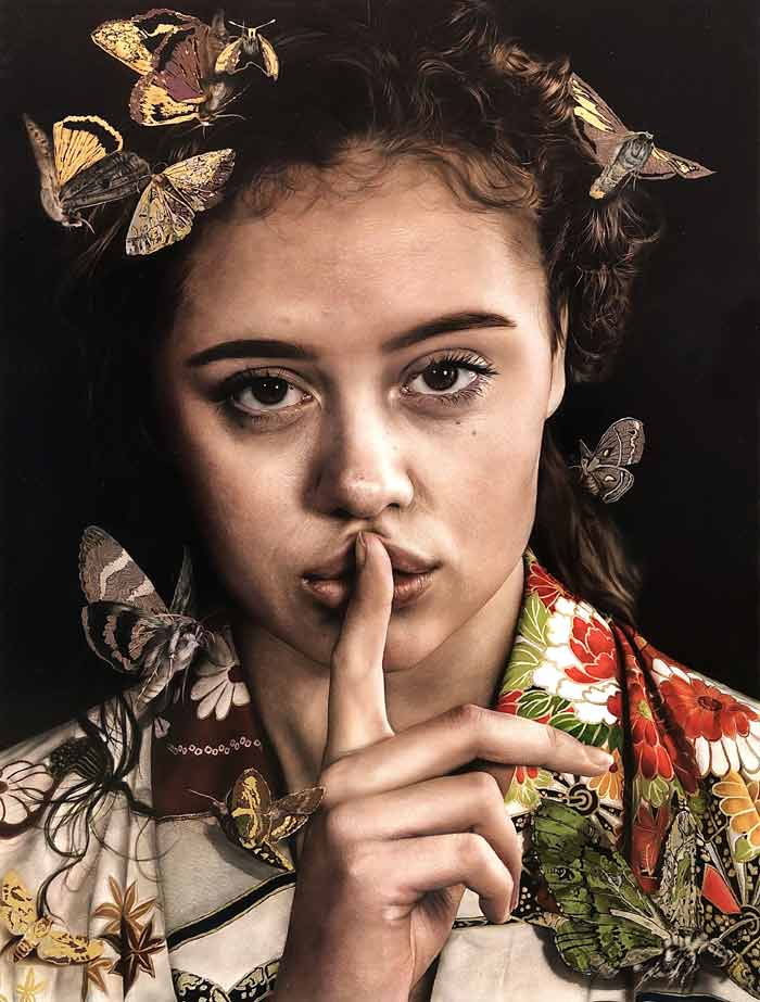 Marissa Oosterlee Incredible Hyper realism Painting