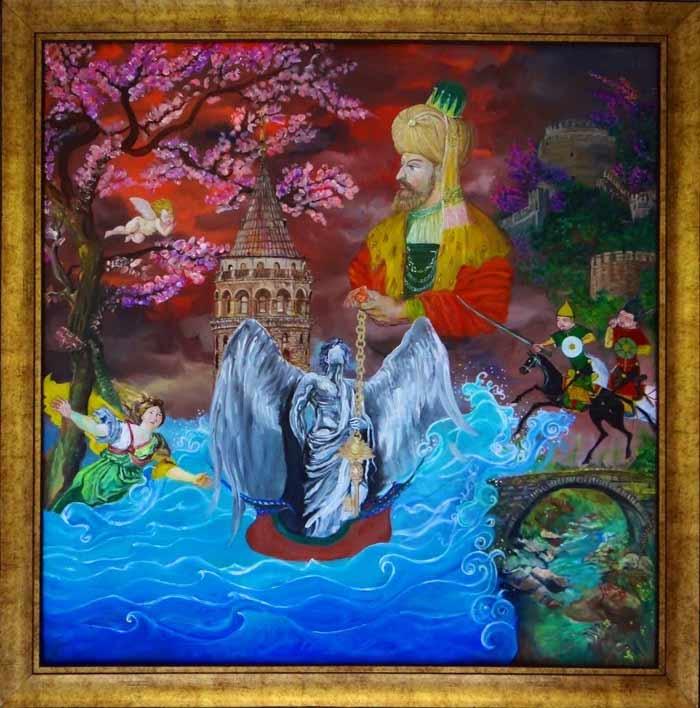 Surreal paintings by Ipek Chi Art