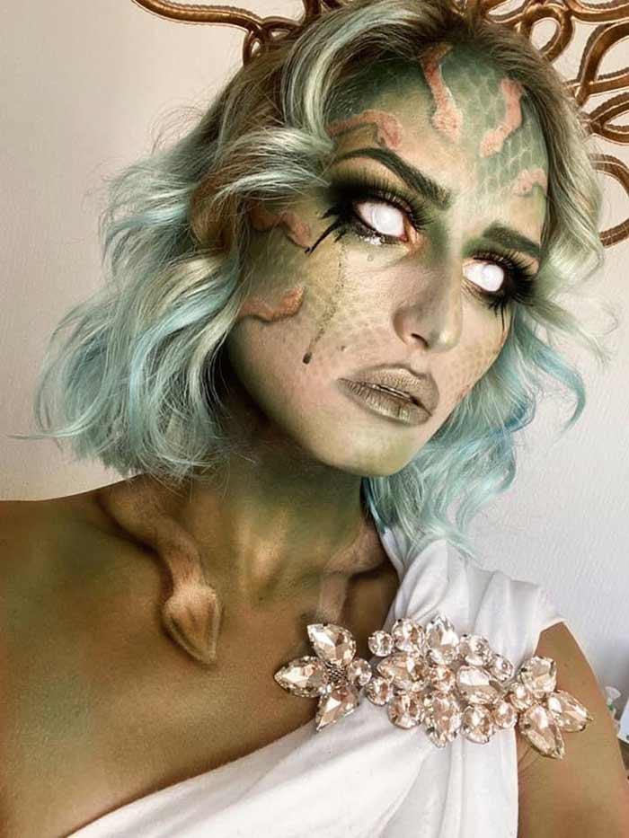 Halloween fantasy makeup looks by Emma Riley