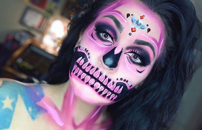Face painting art by Kara Williams