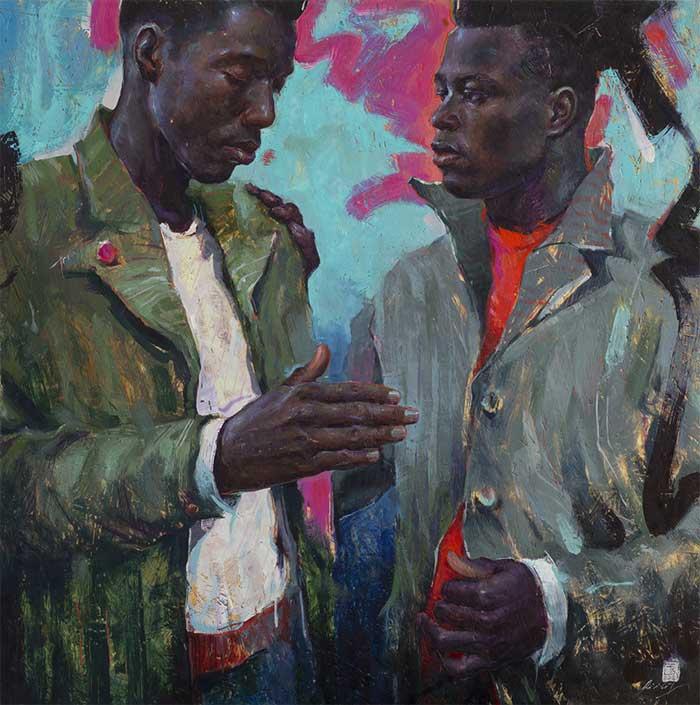 Contemporary realism art by Tania Rivilis
