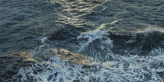 Carina Francioso making beautiful waves in the art world