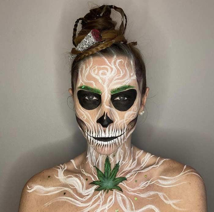 Beautiful Scary Halloween Makeup Art