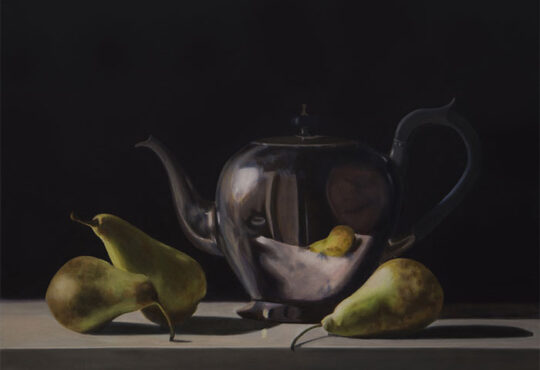 Still life oil painting by Rebecca Ritchie