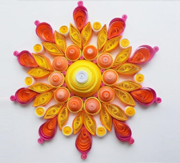 Beautiful filigree paper quilling by Gemma