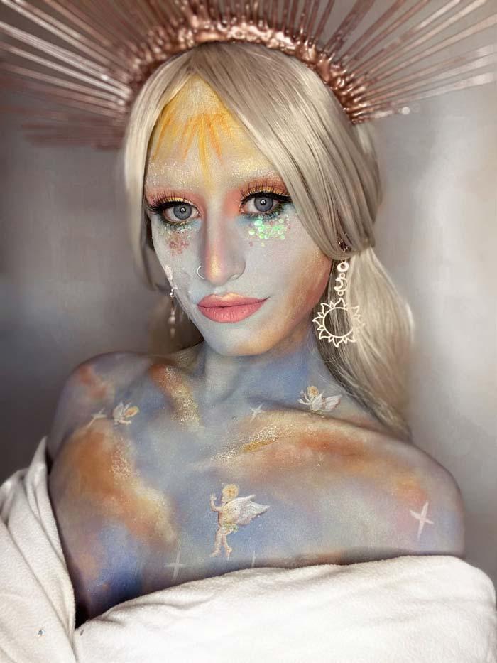 Hera fantasy makeup looks by Emma Riley