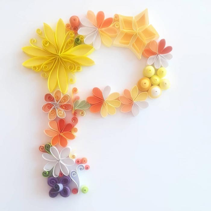 Stunning filigree paper quilling by Gemma