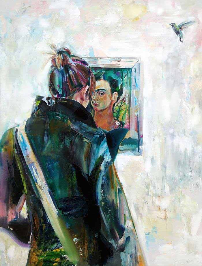 Geoff Farnsworth Oil Painted Portrait
